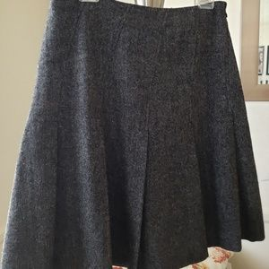 Banana Republic Gray Wool Skort EUC